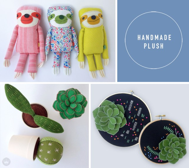 Hallmarket a Hallmark Maker Fair | Handmade Plush | thinkmakeshareblog.com