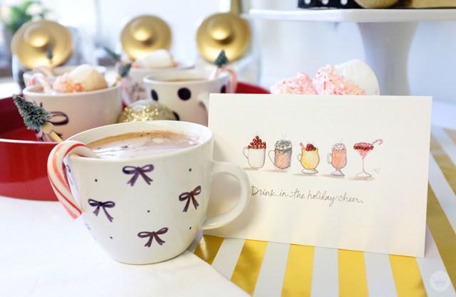 Hot Chocolate Bar with #SignatureStyle | thinkmakeshareblog.com