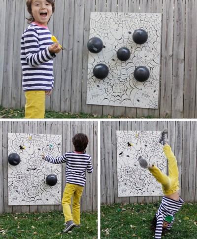 Hallmark artist Lassie creates fun DIY Halloween games for kids | thinkmakeshareblog.com