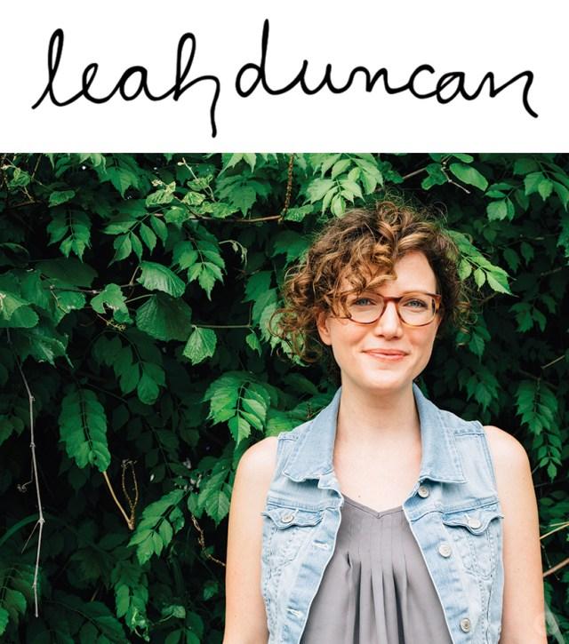 Artist Leah Duncan