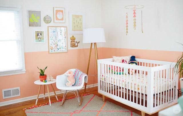 Lindsay H.'s Nursery | thinkmakeshareblog.com