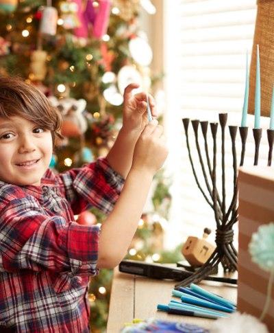 Celebrating both Hanukkah and Christmas | thinkmakeshareblog.com