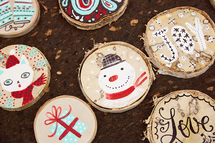 Diy Ornament Ideas Inspiration For Painting Your Own Decorations Think Make Share