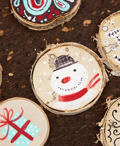 Maker and Giver Tree Ornaments | thinkmakeshareblog.com