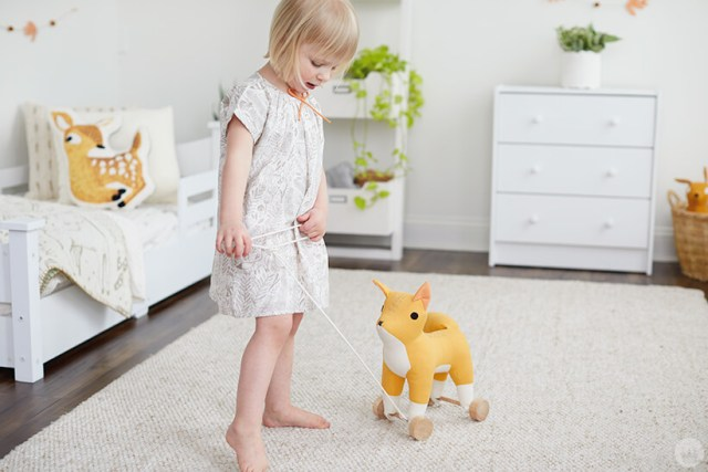 Hallmark Baby Nature Babe nursery and outfit