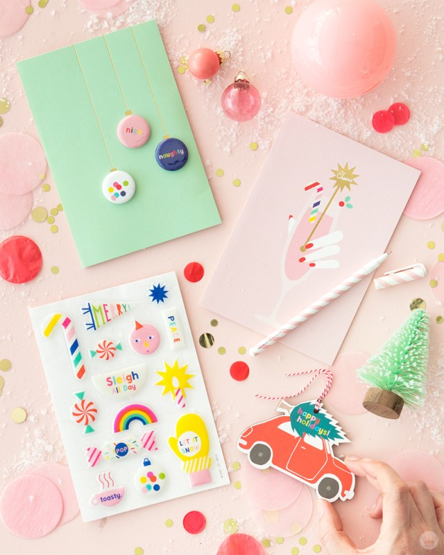 Oh Happy Day Signature Christmas cards created in partnership with Hallmark