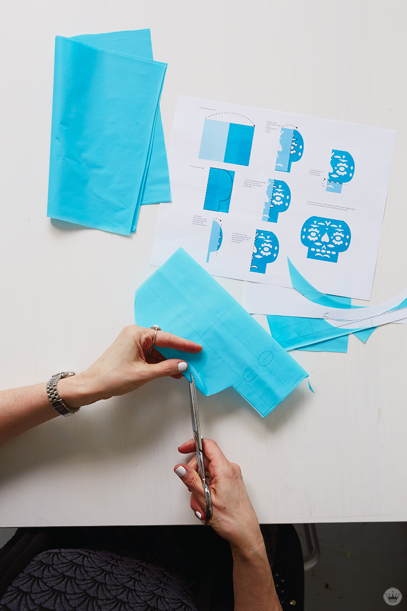 DIY Papel Picado Make Cut Paper Banners For Day Of The Dead ThinkMakeShare