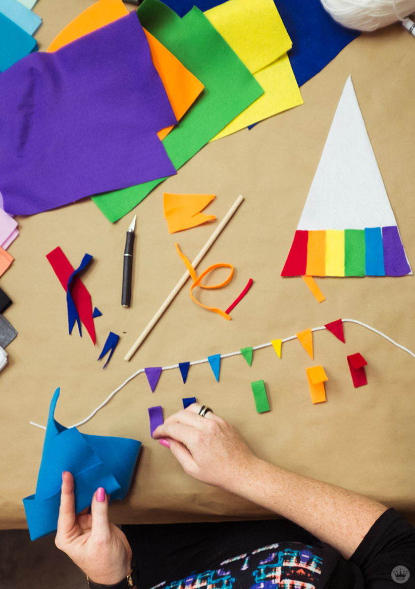pride month flags think make share