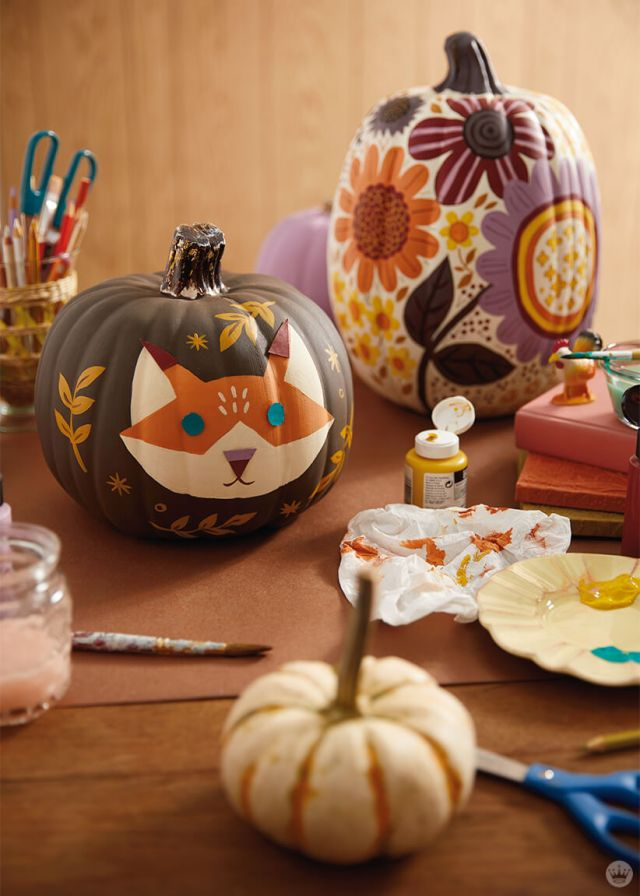 Pumpkin Decorating 2020 | thinkmakeshareblog.com
