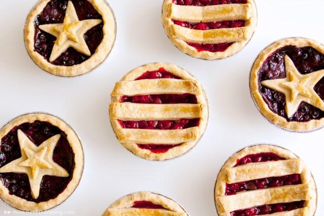 Recipe | Patriotic Mini Pies | thinkmakeshareblog.com