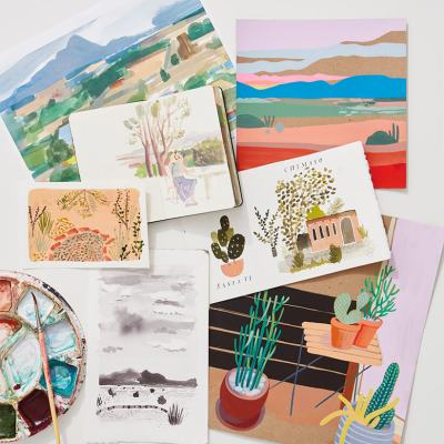 Santa Fe Art   thinkmakeshareblog.com