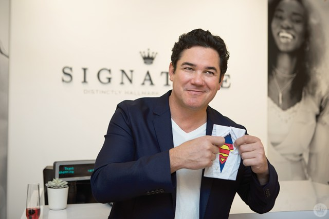 Dean Cain at the new Hallmark Signature Store in Santa Monica, CA