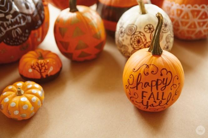 Easy No Carve Pumpkin Ideas