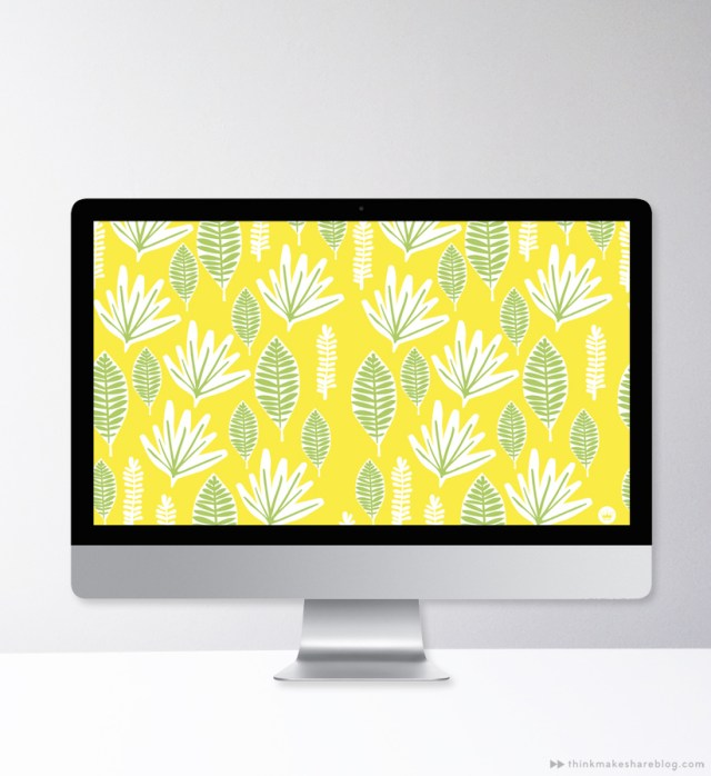 Summer Inspired Free Downloadable Wallpapers | thinkmakeshareblog.com