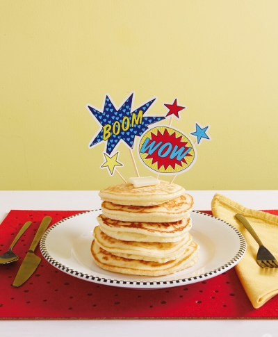 Super Hero Breakfast | thinkmakeshareblog.com