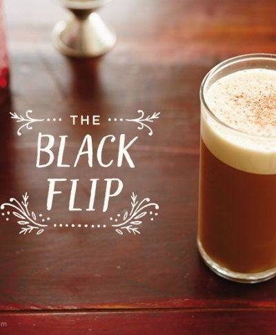 The Back Flip Cocktail | thinkmakeshareblog.com