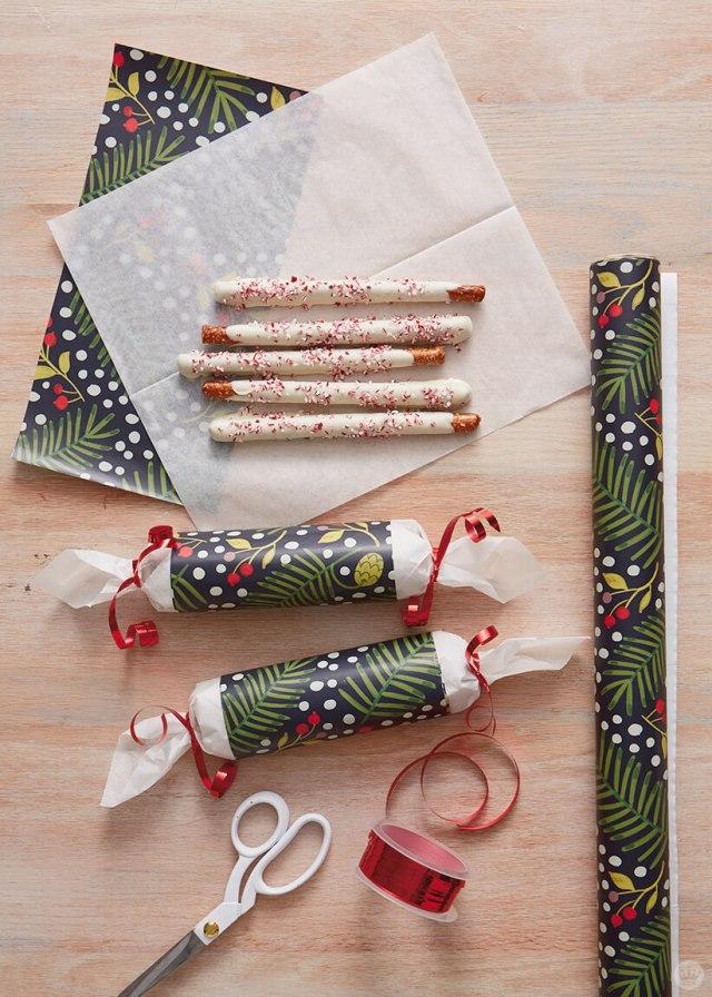 Treats Gift Wrap | thinkmakeshareblog.com