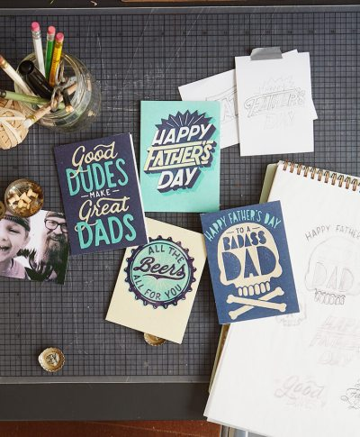 Studio Ink Father's Day Card Collection | thinkmakeshareblog.com