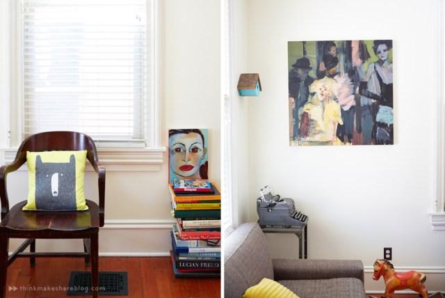 displaying art with hallmark designer dean kube