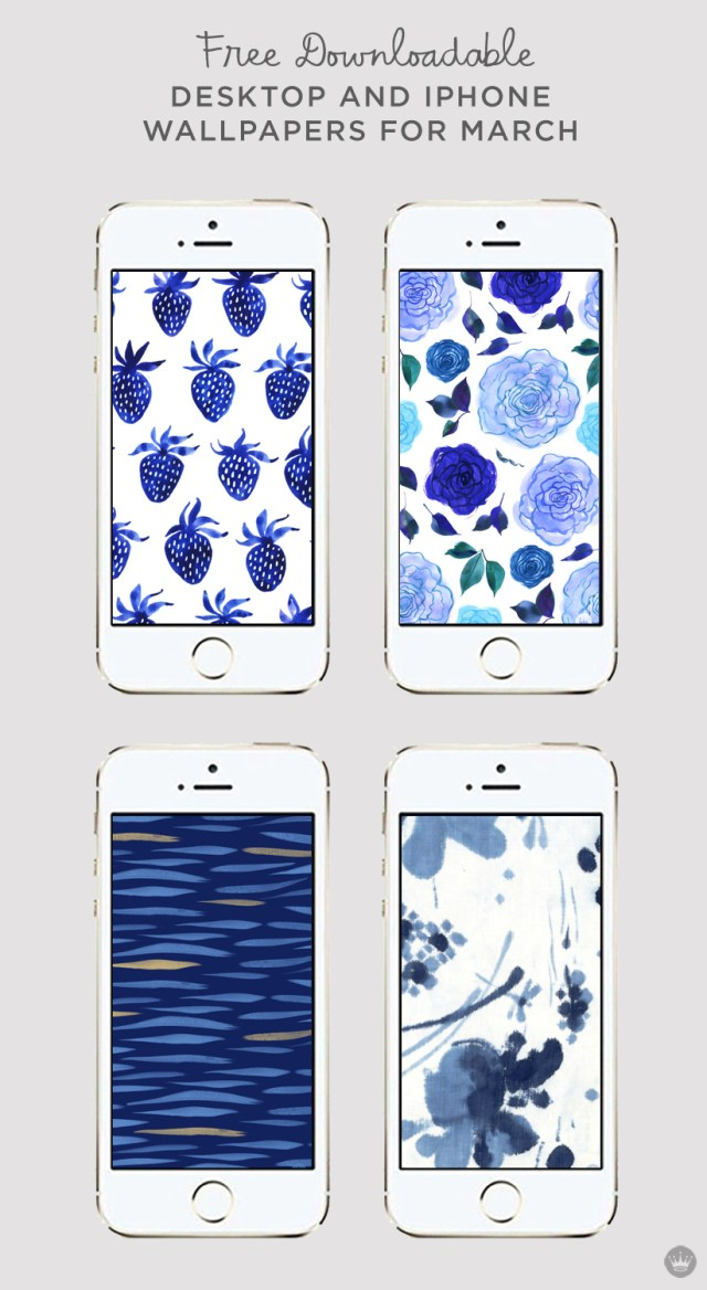 Download these free digital wallpapers for desktop and iphone   thinkmakeshareblog.com