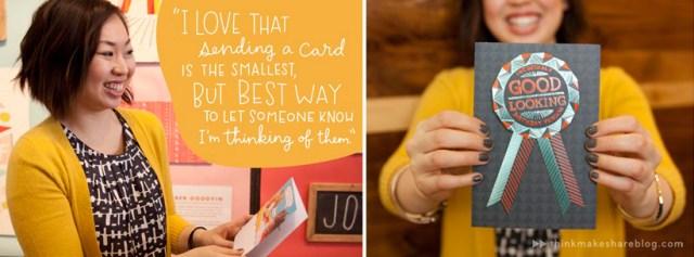 Send a card just because! | thinkmakeshareblog.com