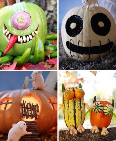 Pumpkin decorating ideas from Betsy Gantt on Hallmark.com | thinkmakeshareblog.com