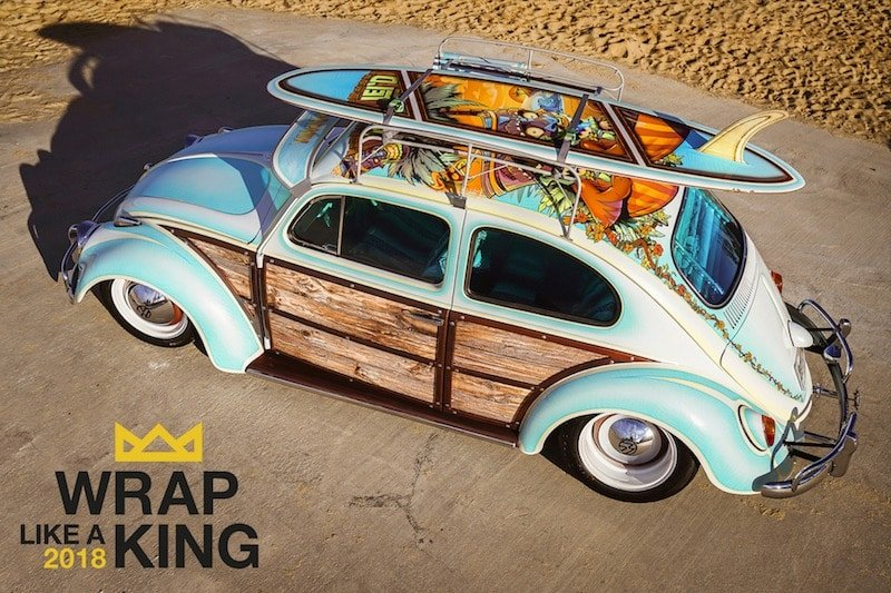 "Avery Dennison ""Wrap Like a King"" Challenge Opens for Vehicle Wrap Submissions 4"
