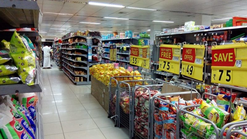 Wow, there's a ton of stuff to wade through at the typical supermarket!