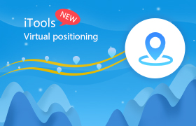 iTools' new updates: virtual location on iPhone