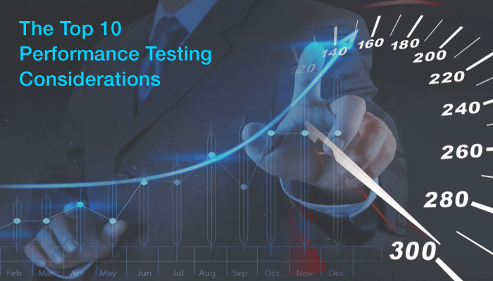 performance testing consideration