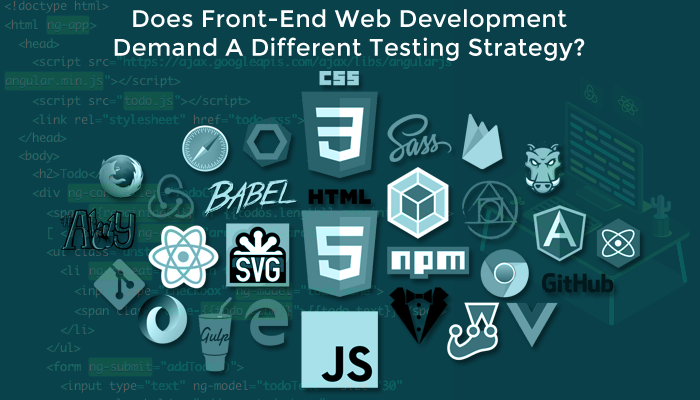 Front End Testing Strategy