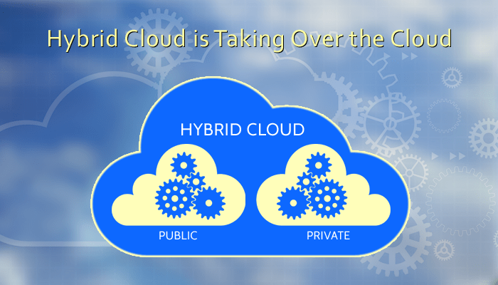 hybrid cloud is taking over the cloud