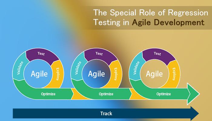 role of regression in agile development