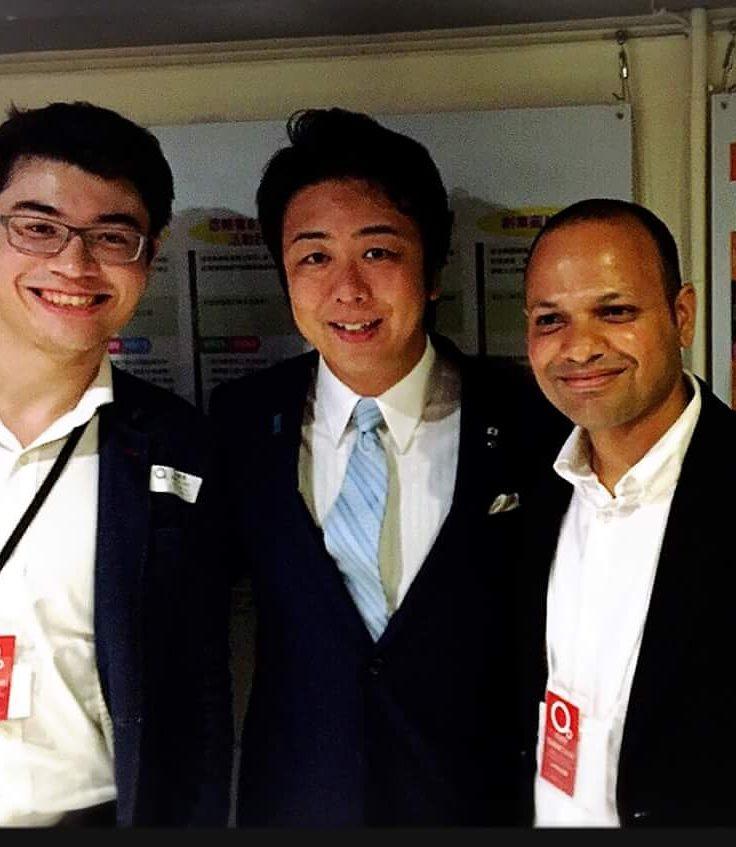 感謝日本福岡市長- 高島宗一郎 Sōichirō Takashima 先生支持智囊團