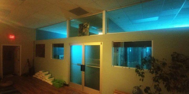 Custom lit float rooms