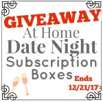 At Home Date Night Subscription Box GIVEAWAY! A 6-Month Subscription ($197 Value)