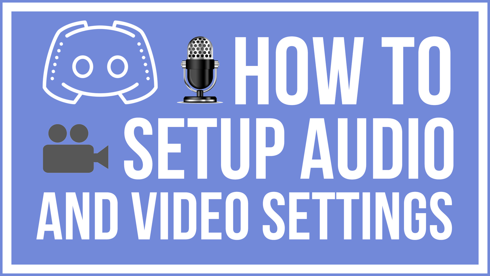 Discord Audio and Video Settings Thumb
