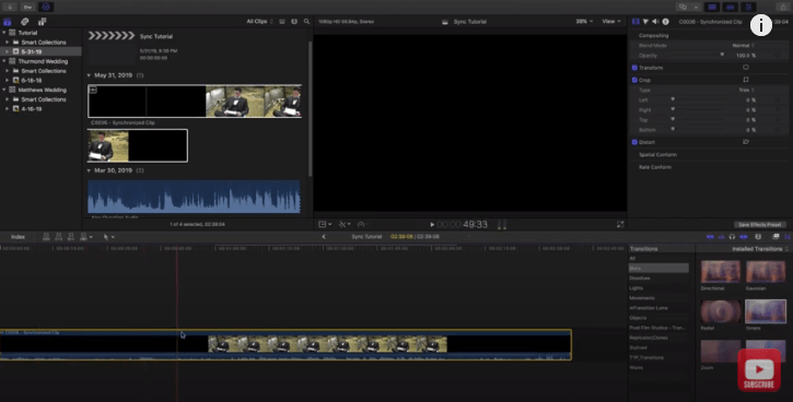 How to Sync Audio to Video in Final Cut Pro