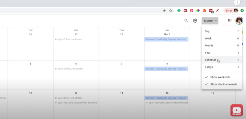 Google Calendar Full Tutorial