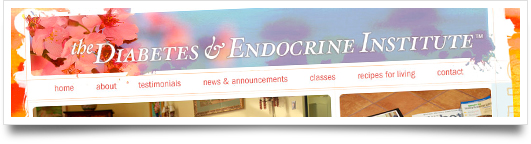 Website Design for  Diabetes and Endocrine Institute  - Flowood Mississippi
