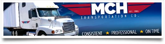 Website Design for MCH Transportation - Jackson Mississippi