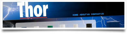 Website Design for Thor Products - Greenwood Mississippi