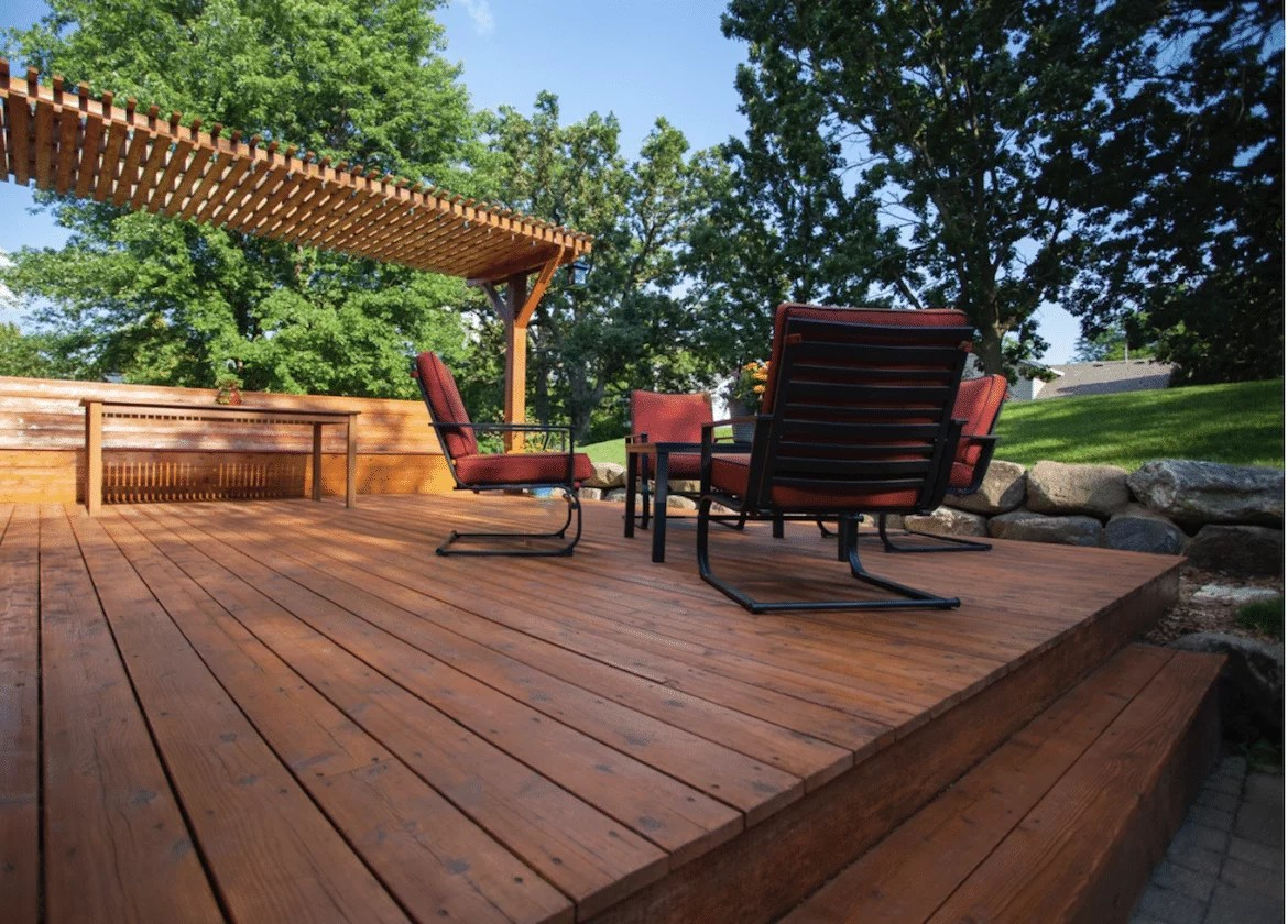 how to prevent splinters on a deck