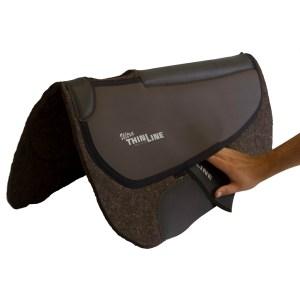 ThinLine Western Pro-Tech Felt Saddle Pad Round Skirt Inserts