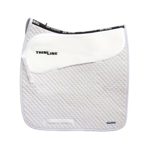 ThinLine Dressage Saddle Pad White