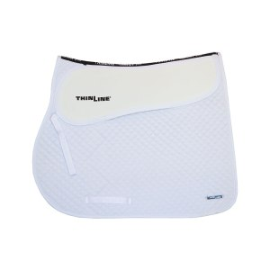 ThinLine Close Contact Jumping Saddle Pad White