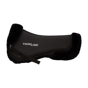 ThinLine Sheepskin Comfort Half Pad Black