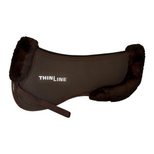 ThinLine Trifecta Cotton Half Pad Brown