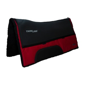 ThinLine Western Ranch Saddle Pad Red