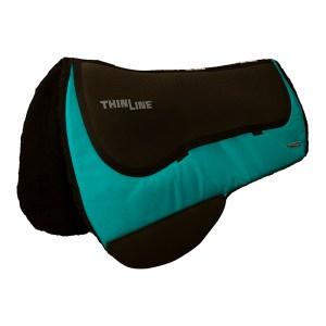 ThinLine Western Ranch Saddle Pad Turqouise Round Skirt